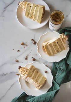 Banoffee Cake - The Cupcake Confession Sweet Recipes, Cake Recipes, Dessert Recipes, Desserts, Banoffee Cake, Cake Tins, Cake Batter, Beautiful Cakes, Cupcake Cakes