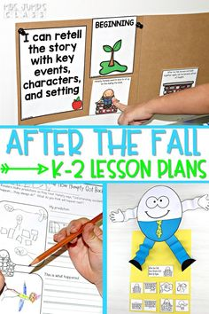 Check out these reading comprehension lesson plans for kindergarten, 1st, and 2nd grade! Fun and engaging planned out lessons and resources. Students work on comprehension strategies, vocabulary, grammar, and a craft too!