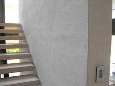 Staircase Special Textured Paint Travertino Romano Oikos by Italian Design Center pte ltd Singapore