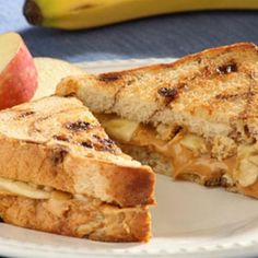 The Deen Brothers dress up plain peanut butter with granola, banana, honey and more! - parenting.com