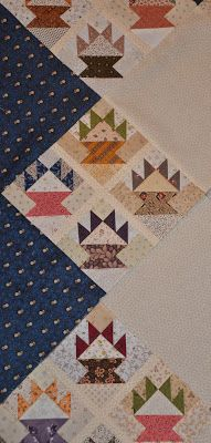 Sewn Wild Oaks Quilting Blog: Block of the Week - Baskets