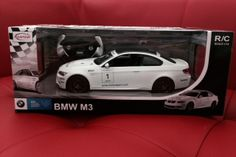 NEW RASTAR BMW M3 OFFICIAL LICENSED 1/14 REMOTE CONTROLLED CAR RTR WHITE BLACK