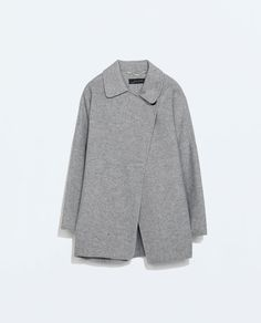 Image 6 of DOUBLE BREASTED COAT from Zara