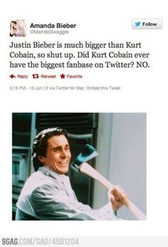 I like Justin Bieber but this is just hilarious. people are stupid.
