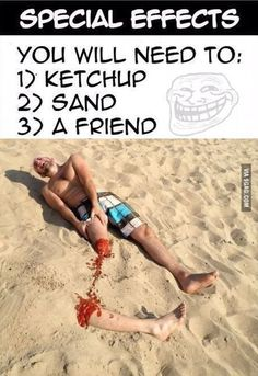 Accidente en la playa, Funny Images, Photos Online, Funny Jokes, is a funny way in life! Funny Pranks, Funny Jokes, Animation Photo, Photo Humour, Kpop Memes, Dump A Day, Humor Grafico, George Clooney, Beach Fun