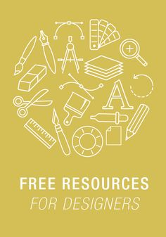 List of free resources for graphic designers.  http://bryonymacintyre.tumblr.com/post/130741531968/free- resources-for-designers   #freedesignresource #graphicdesign #designresource