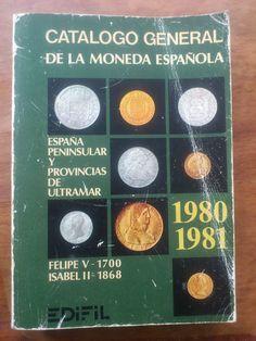catalogo de monedas Española ,editado en 1981