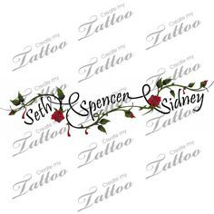 children's names tattoos for women - Google Search