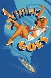 Anything Goes - saw this with Mitch at the Stephen Sondheim Theatre. Our first Broadway musical together.