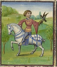 Arenberg Hours (Bruges, 1460 circa), Getty Museum.  THE MONTH OF MAY IN THE MIDDLE AGES.  Falcon hunting, concerts outdoors and courtly leisure: the month of May is really delightful in Middle Ages, if you are blue-blooded. Let's discover how and why illuminators painted it so.