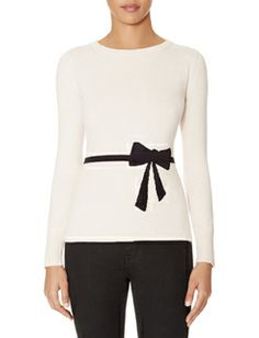 Intarsia Bow Sweater from the LImited