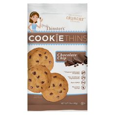 That's How We Roll Mrs. Thinsters Chocolate Chip Cookie Single Serve
