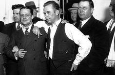 John Dillinger in court, Crown Point, Indiana, 1934