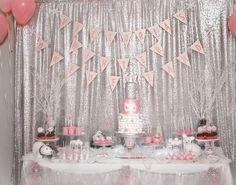 Winter Wonderland,dessert table, party ideas, winter theme, birthday party, first birthday, winter onderland, winter baby shower, winter birthday party, winter onderland party ideas