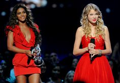 Beyonce gives Taylor back the moment that Kanye took away from her
