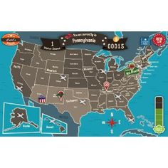 Geography Drive USA: 50 U.S. States & Capitals Trivia Games - Fun Brain Teaser Facts on the History of America