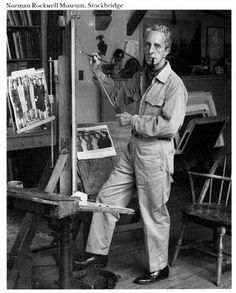 Norman Rockwell, (American Illustrator) Thou he is an illustrator as an artist he is probably America's most talented artist to date. His covers of the Saturday Evening Post were issued for over four decades. His painting documented the American people and their culture. His most known works can't be determined because of their massive appeal and great numbers of production.