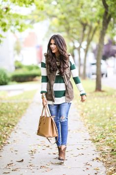 Chic Sweater Weather Look 2017 Street Style