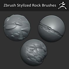 3 Free sculpted zbrush brushes please give me feedback as I'm planning to create a bigger set of brushes.  For download - https://gumroad.com/environmentdesign For updates - www.facebook.com/JonasDigitalArt