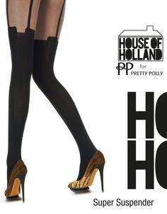 Super Suspender tights from House of Holland!! By www.sexychic.nl.