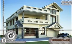 Trendy Ideas For House Front Exterior India Four Bedroom House Plans, Small House Plans, House Floor Plans, House Plans With Pictures, House Design Pictures, Best Small House Designs, House Arch Design, House With Balcony, Indian House Plans