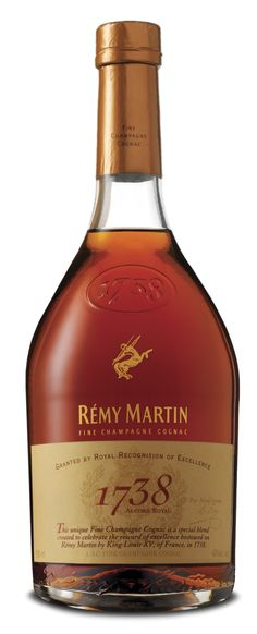 The 1738 #RémyMartin #Cognac was neither distilled, nor bottled in #1738: Its just a name. The date is a reference to Rémy Martins early history