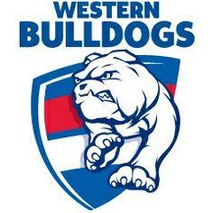 Western Bulldogs logotipo Imagen No.-017AFL. Logotipo del equipo de fútbol de reglas australianas Western Bulldogs por Oscar Ricardo Martinez Garcia (Ricky) Western Rules Football Club (The Bulldogs) de la Australian Football League (AFL).