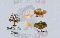 Nella prima serie di missioni Doc's Flyin' Machine è richiesto il Butterfly Tree; cercatelo nell'Inventory o nell'Orchard, è un premio di precedenti missioni.
