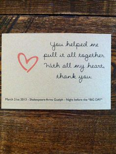 Bridesmaid Thank You Cards by gracelamerveille on Etsy, $20.00