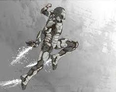 drawing of iron man - Google Search