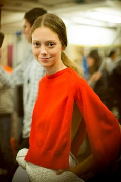 J.W. Anderson spring 2014 rtw - behind the scenes