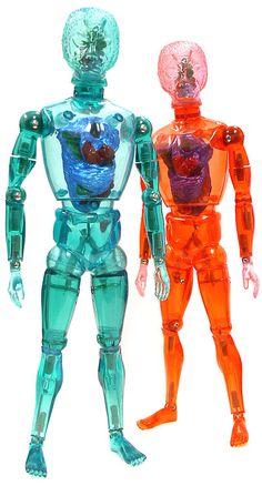 Micro Heritage - Takara Henshin Cyborg Series - These guys were more or less the forerunners of the Micronauts & Micromen figures