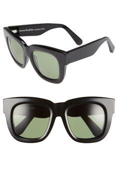 685eaa93f6a ACNE Studios  Library  50mm Square Sunglasses Sunnies Studios