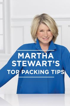 Whether you're a chronic under-packer or a throw-in-everything-but-the-kitchen-sink type, we could all improve our packing practices. And who better to turn to for advice than organizing doyenne, Martha Stewart? Here she talks to Jetsetter about her tried-and-true tips. Trust us, you'll never deal with exploding toiletries again.