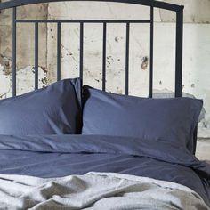 VT Momo Blauw / Grijs 200x220+40 cm + 60x70 cm (2x) #duvet #duvetcover #bedding #bedroom #bed #dekbedovertrek #dekbedovertrekset #overtrek #lakens #sheets #bedsheets > www.marington.nl