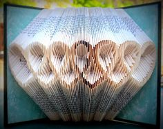 Just finished folded heart book. Pattern below! Click on the picture to make it bigger and print it out. From there, make your pa...