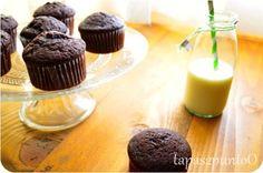Muffins de chocolate y ron