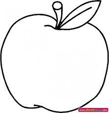 10 En Iyi Meyve Kalıpları Görüntüsü Coloring Pages For Kids