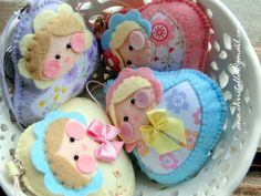 felt russian dolls