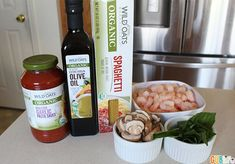 Family Dinner under $15: Shrimp and Mushrooms with Wild Oats Pasta available at Walmart