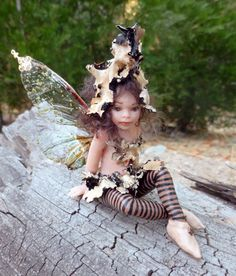 Woodland fairy OOAK Hiddleston Fairy