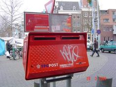 Dutch postbox