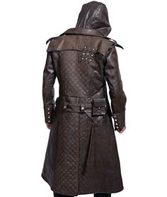 Shop a great selection of Assassins Creed Syndicate Ninja Jacob Frye Jacket Brown Leather Trench Coat. Find new offer and Similar products for Assassins Creed Syndicate Ninja Jacob Frye Jacket Brown Leather Trench Coat. Long Leather Coat, Lambskin Leather Jacket, Leather Men, Brown Leather, Leather Jackets, Real Leather, Leather Briefcase, Men's Briefcase, Leather Armor