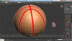 Basketball Ball - 3ds Max Modeling Tutorial | Tutorials For 3ds Max