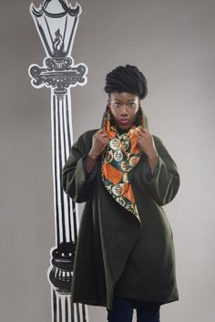 Hey, I found this really awesome Etsy listing at https://www.etsy.com/uk/listing/247298241/green-and-orange-african-batik-coat-on