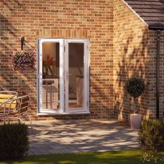 External French Doors, External Doors, French Doors Patio, Patio Doors, Glass Extension, Door Sets, Chrome Handles, Windows And Doors, Front Doors
