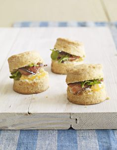 Try Bite-Size Sandwiches
