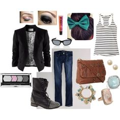 """""""Casual Blazer"""" by maureen-ingraham on Polyvore"""