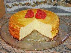 Einfacher Quarkkuchen ohne Boden