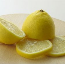 Lemon juice and baking soda for an at home microdermabrasion!!!    Things You'll Need        1 tsp. fresh (preferably organic) lemon juice      2 tbsp. baking soda      Distilled water or filtered water      2 small bowls      Hand towel    Preparing the Acne Microdermabrasion        Step 1: Slice the lemon in half and squeeze the juice into a bowl. Measure out 1 tsp. and transfer this amount to the second bowl.        Step 2: Add baking soda to the 1 tsp. lemon juice and stir slightly…